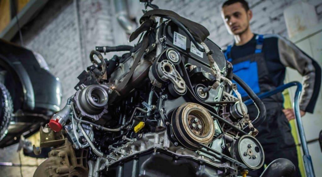 Замена двигателя Мерседес в Казани