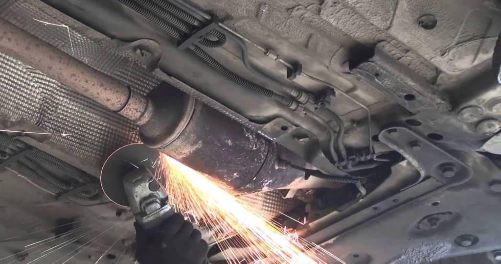 Удаление сажевого фильтра Ауди в Казани
