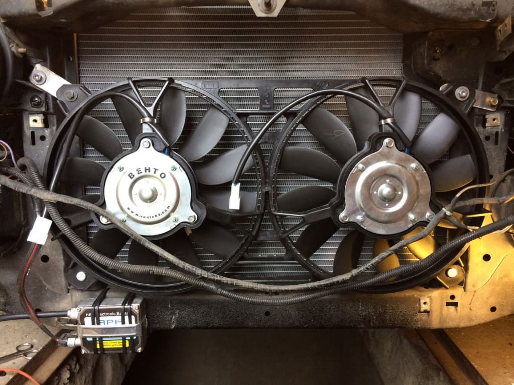 Замена вентилятора охлаждения Порше в Казани