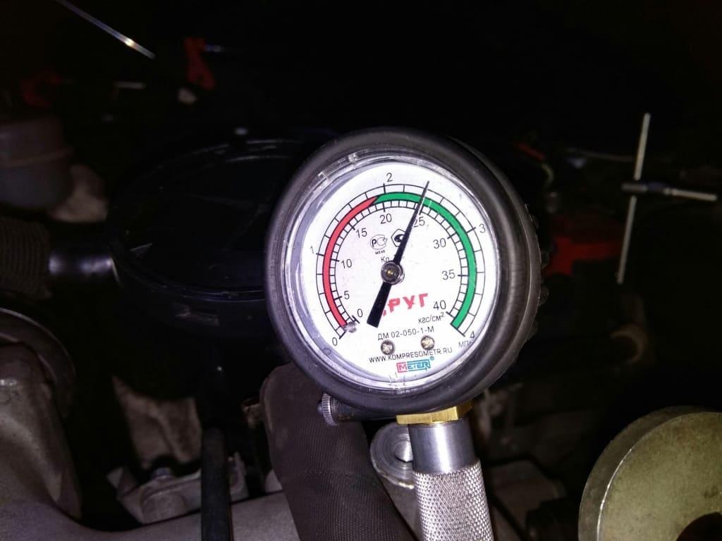 Замер компрессии двигателя Мерседес в Казани